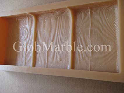 Amazon Stepping Stone Mold Concrete Mold Wood Grain WS 5010