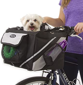 Jack and Dixie Dog Bike Basket