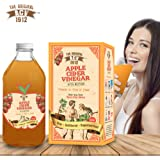 Dr Trust Original Acv (Usa) Apple Cider Vinegar (500 Ml ) With The Mother Measuring Cap Free
