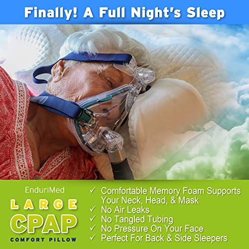 Cpap pillow and cpap machine