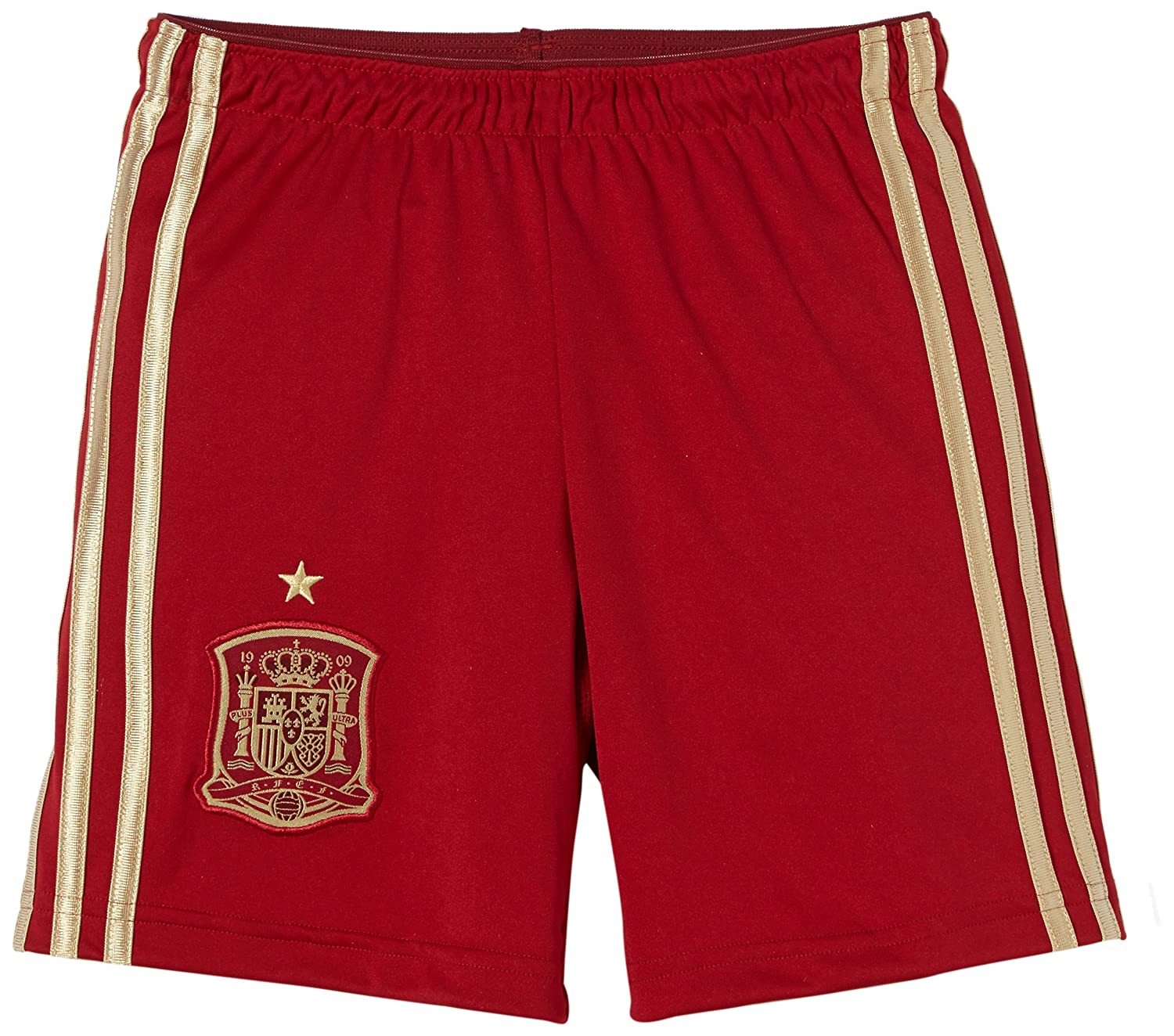 2014-15 Spain Home World Cup Football Shorts (Kids) Adidas