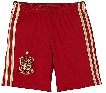 Adidas Selección Española de Fútbol - Pantalones cortos de fútbol para niño, 2014: Amazon.es: Deportes y aire libre