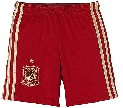 Adidas Selección Española de Fútbol - Pantalones cortos de fútbol para niño, 2014, talla