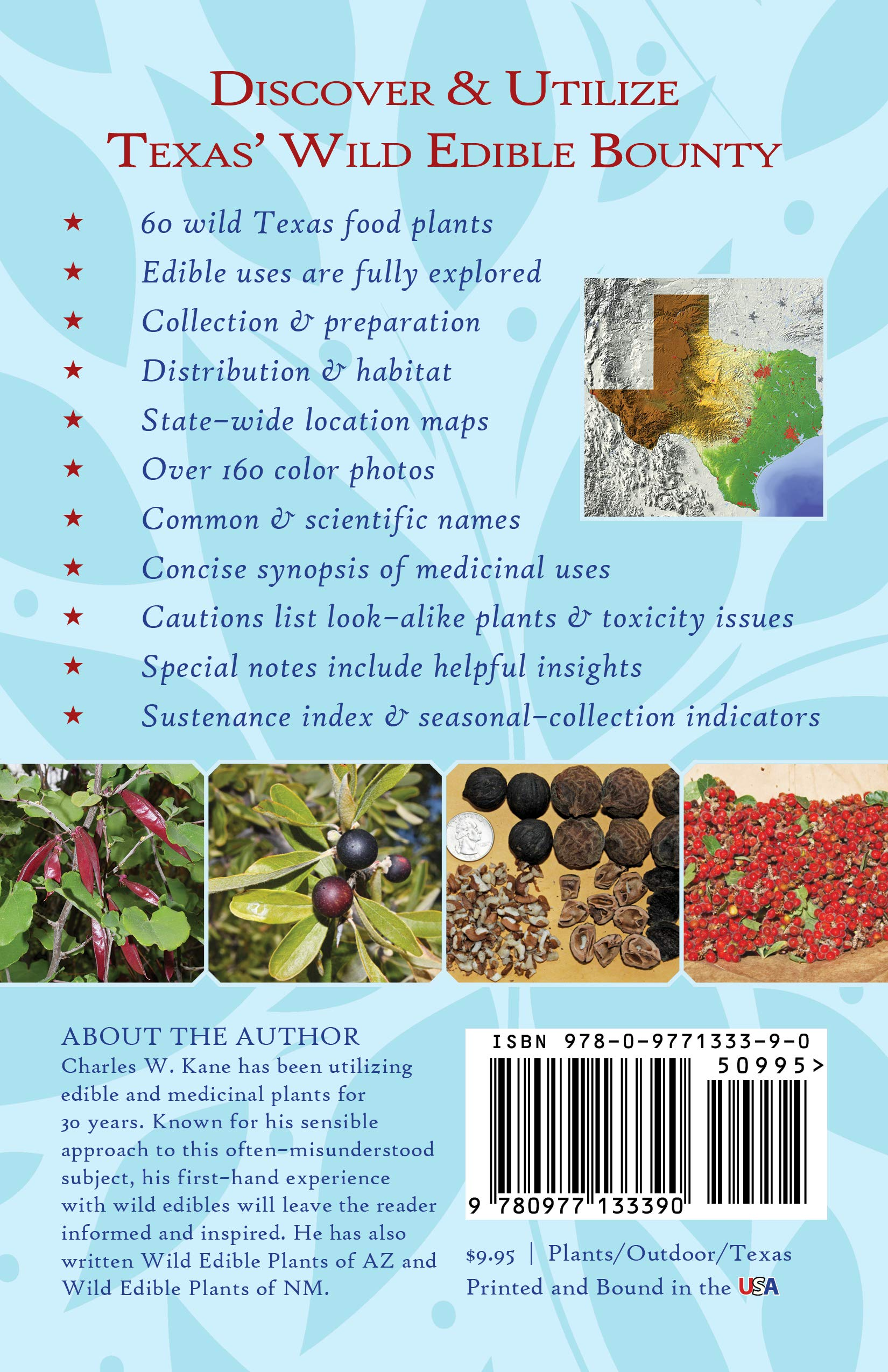 Wild Edible Plants Of Texas A Pocket Guide To The Identification