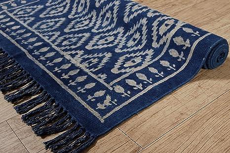 Amazon.com: HANDICRAFT-PALACE Indian Handmade Kashish Block ...