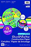"SunWorks Construction Paper, 12""X18"", Smart-Stack Assortment, 150 Sheets"