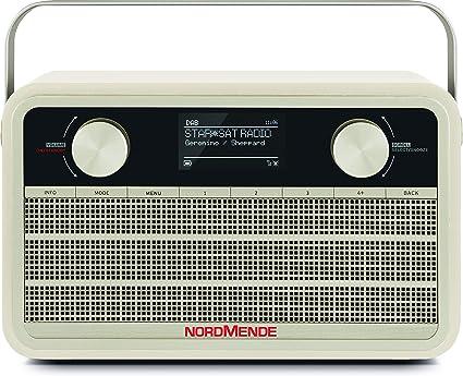 Nordmende Transita 120 Ir Portable Internet Radio Dab Radio Fm Wifi 24 Hours Battery Alarm Clock Sleep Timer Headphone Jack 5 Watt Mono Speaker Beige Home Cinema Tv Video