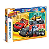 """Clementoni 25215.2 """"Blaze and The Monster Machines"""" Maxi Puzzle (3 x 48-Piece)"""