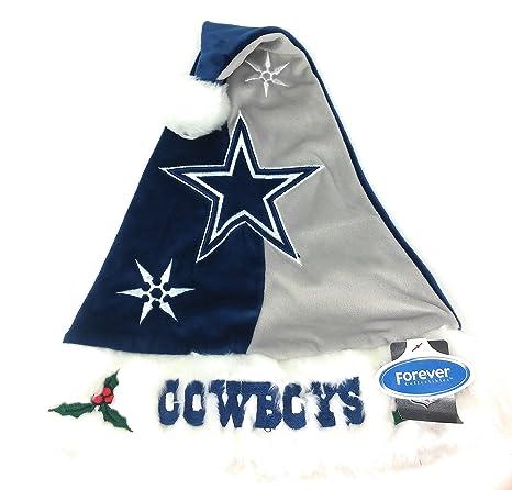 cea6cb89f Amazon.com  NFL Santa Hat - Dallas Cowboys  Sports   Outdoors