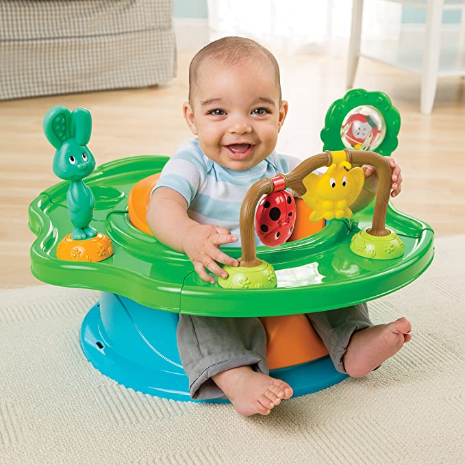 Summer Infant Stage Super Seat - Asiento elevador con actividades: Amazon.es: Bebé