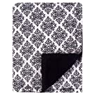 Hudson Baby Mink Blanket with Sherpa Backing, Classic Damask, One Size
