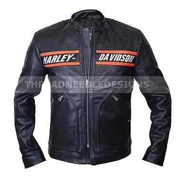 WWE Bill Goldberg Harley Davidson Vintage Motorcycle Cow Hide ...