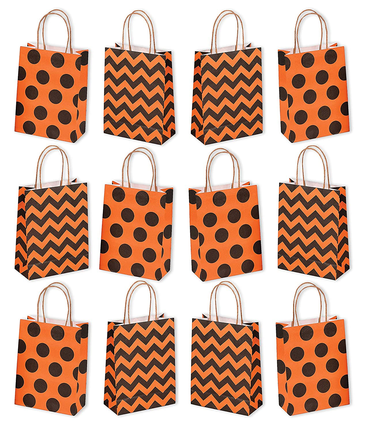 Amazon Com Halloween Paper Craft Party Gift Goodie Bags