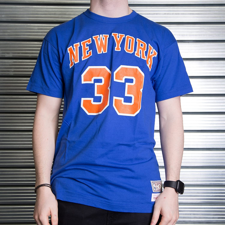 Mitchell & Ness Camiseta Retro Patrick Ewing New York Knicks: Amazon.es: Deportes y aire libre