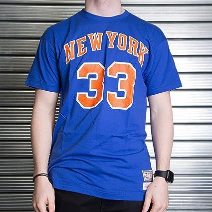 Mitchell & Ness Camiseta Retro Patrick Ewing New York Knicks ...