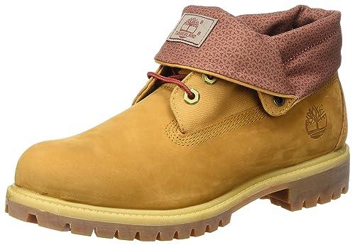 54eec168 Timberland Roll Top, Botas para Hombre, Marrón (Wheat), 44 EU: Amazon.es:  Zapatos y complementos