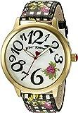 Betsey Johnson Women's BJ00357-22 Analog Display Quartz Multi-Color Watch