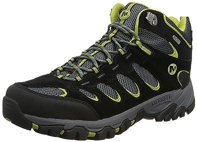5571f3874ce Merrell Men's Ridgepass Mid Waterproof High Rise Hiking Boots