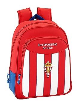 Safta Mochila Escolar Infantil Animada Real Sporting De Gijon Oficial 270x100x330mm: Amazon.es: Equipaje