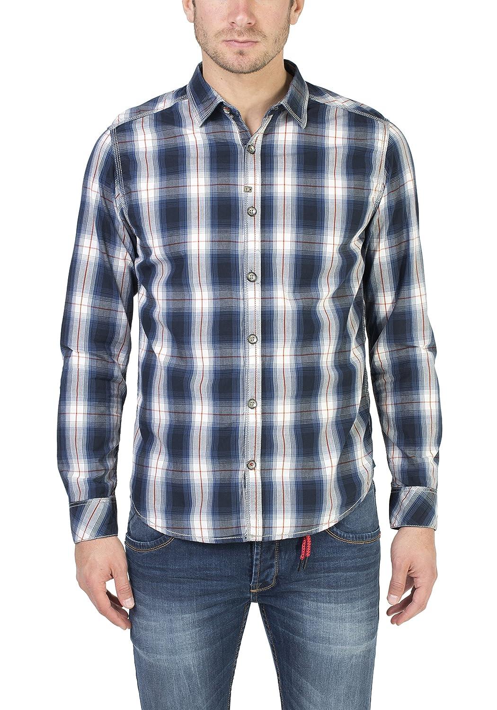 TALLA 45. Timezone Donny Shirt, Camisa para Hombre