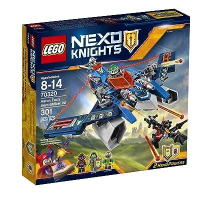 LEGO Nexo Knights 70320 Aaron Fox's Aero-Striker V2 Building Kit (301 Piece): Toys & Games