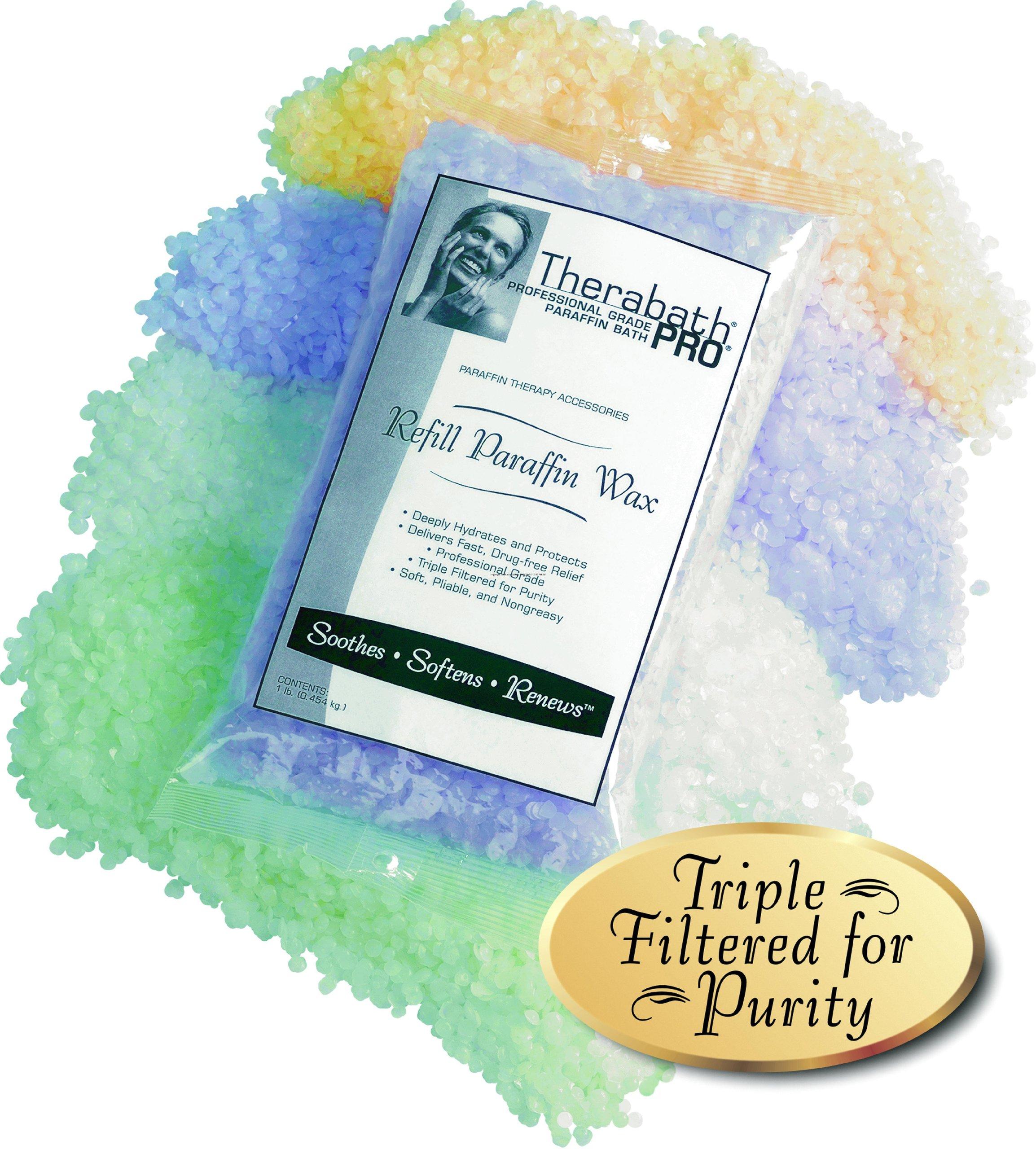 Therabath Therapeutic Refill Paraffin Wax, Scent-Free and Colorant-Free