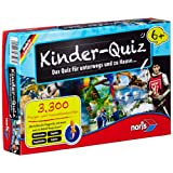 Noris Spiele 606013596 - Kinderquiz ab 6 Jahren Kinderspiel