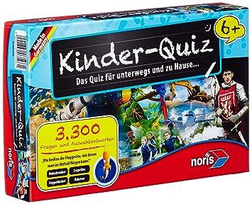 Noris Spiele 606013596 Kinderquiz Ab 6 Jahren Kinderspiel Amazon
