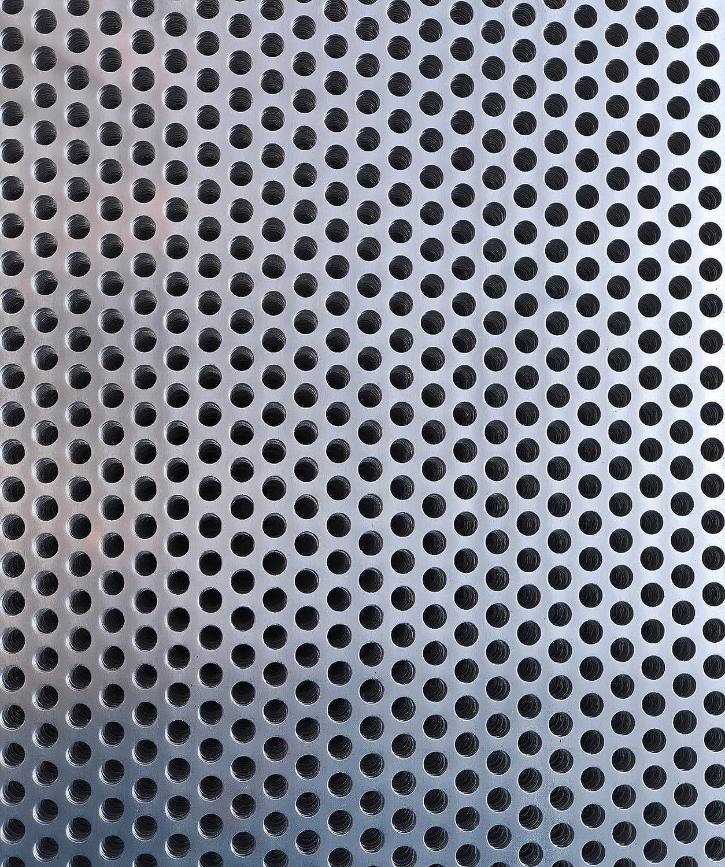 A3 Sheet 300 x 420mm Sheet Aluminium-Perforated Mesh Sheet- 10mm Hole-15mm Pitch-2mm Thickness