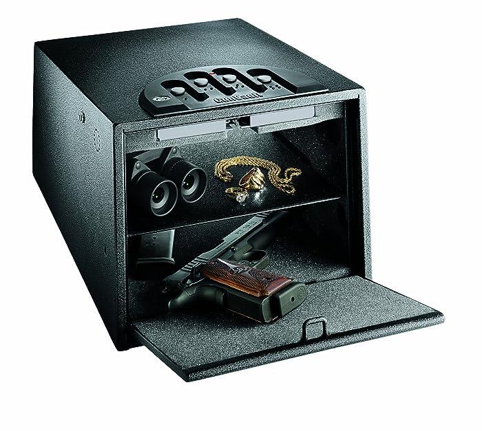 2. Gunvault Biometric Safe (Solution for Storing Multiple Handguns)