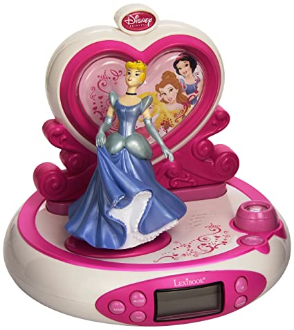 Amazon.com: Disney Princess – Radio despertador proyector ...