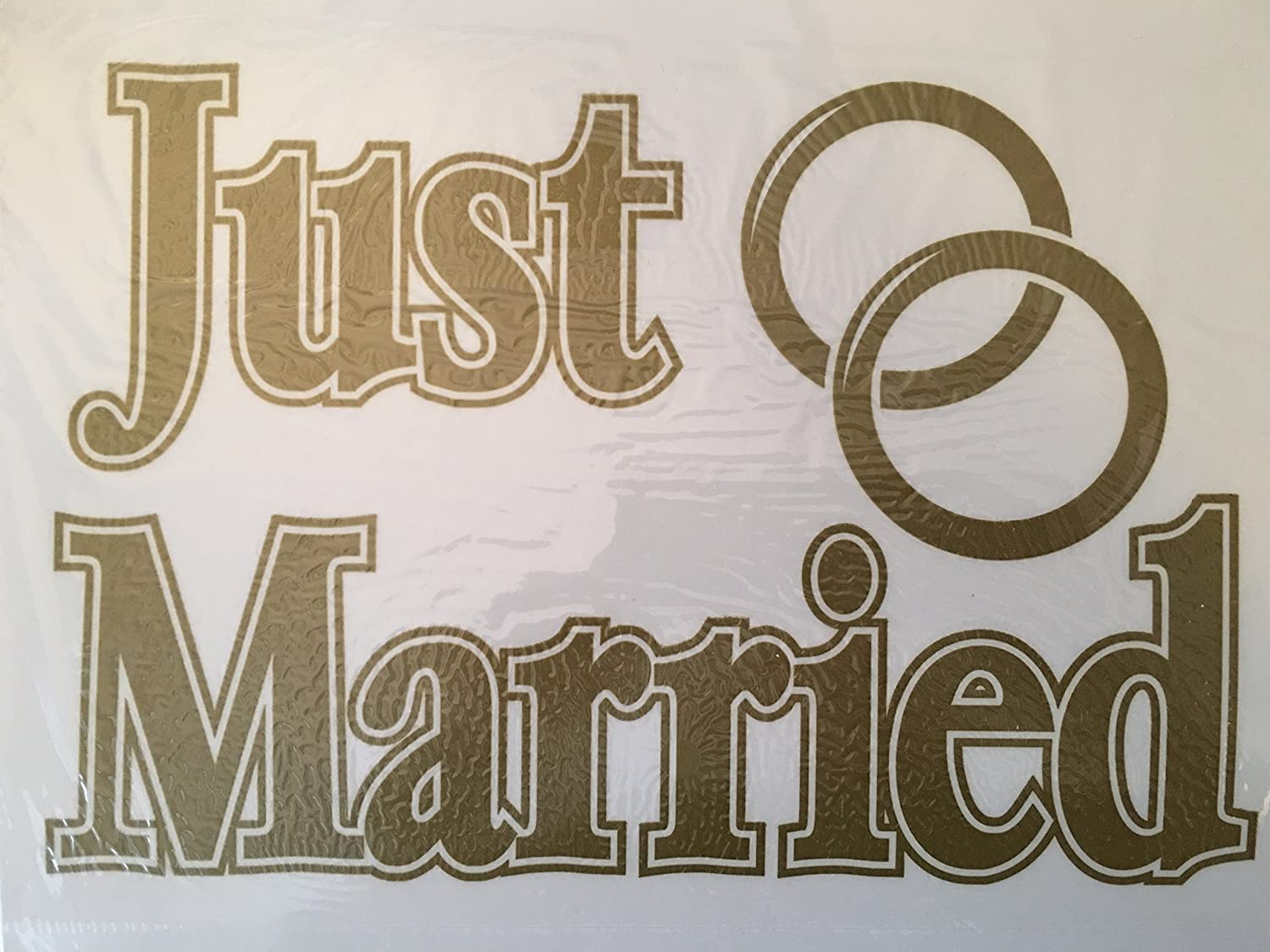 CGSignLab 5-Pack Eat Drink Be Married Window Cling 30x20