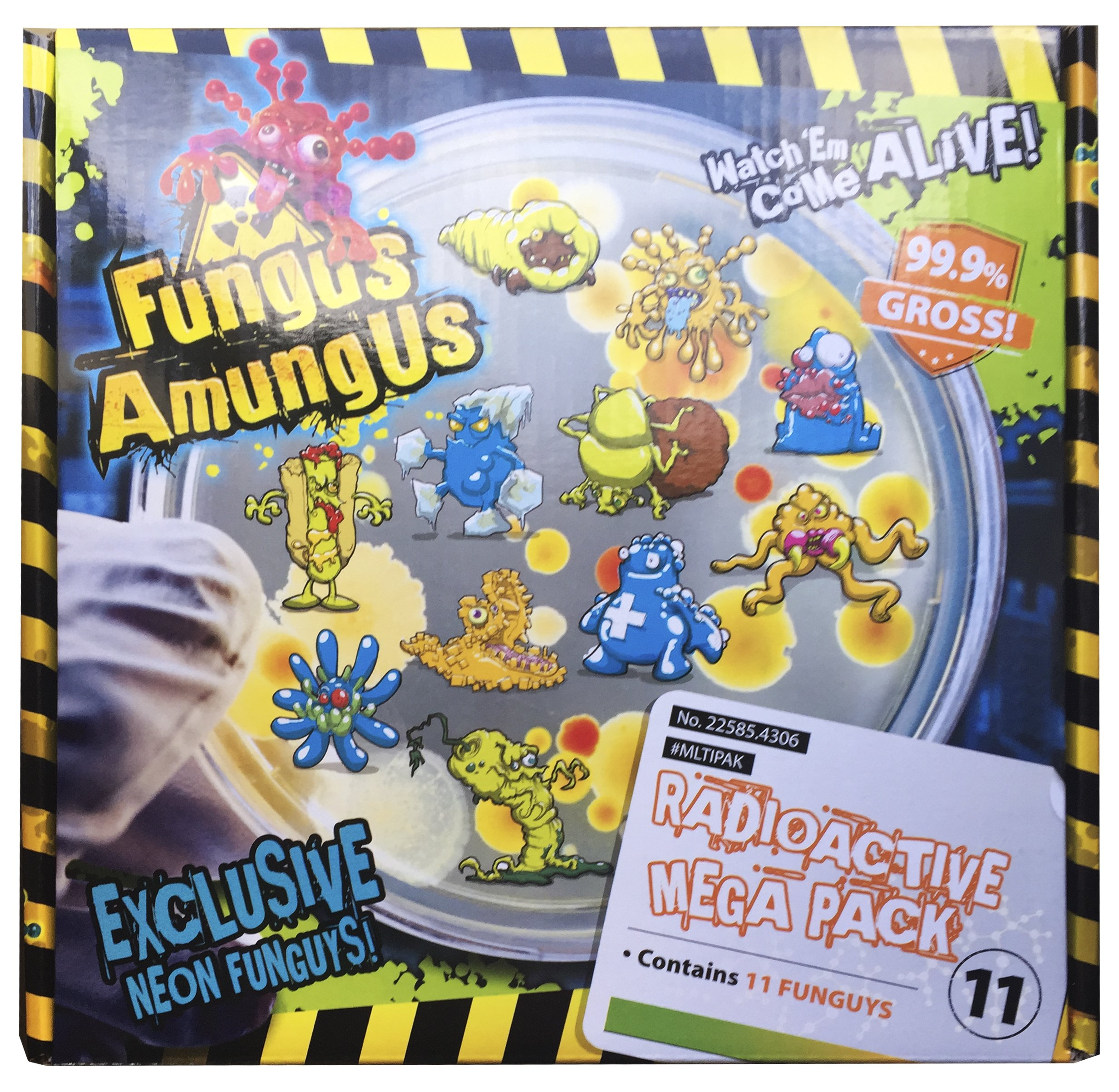 Fungus Amungus Super Neon Funguys Exclusive - 11 Mega Pack
