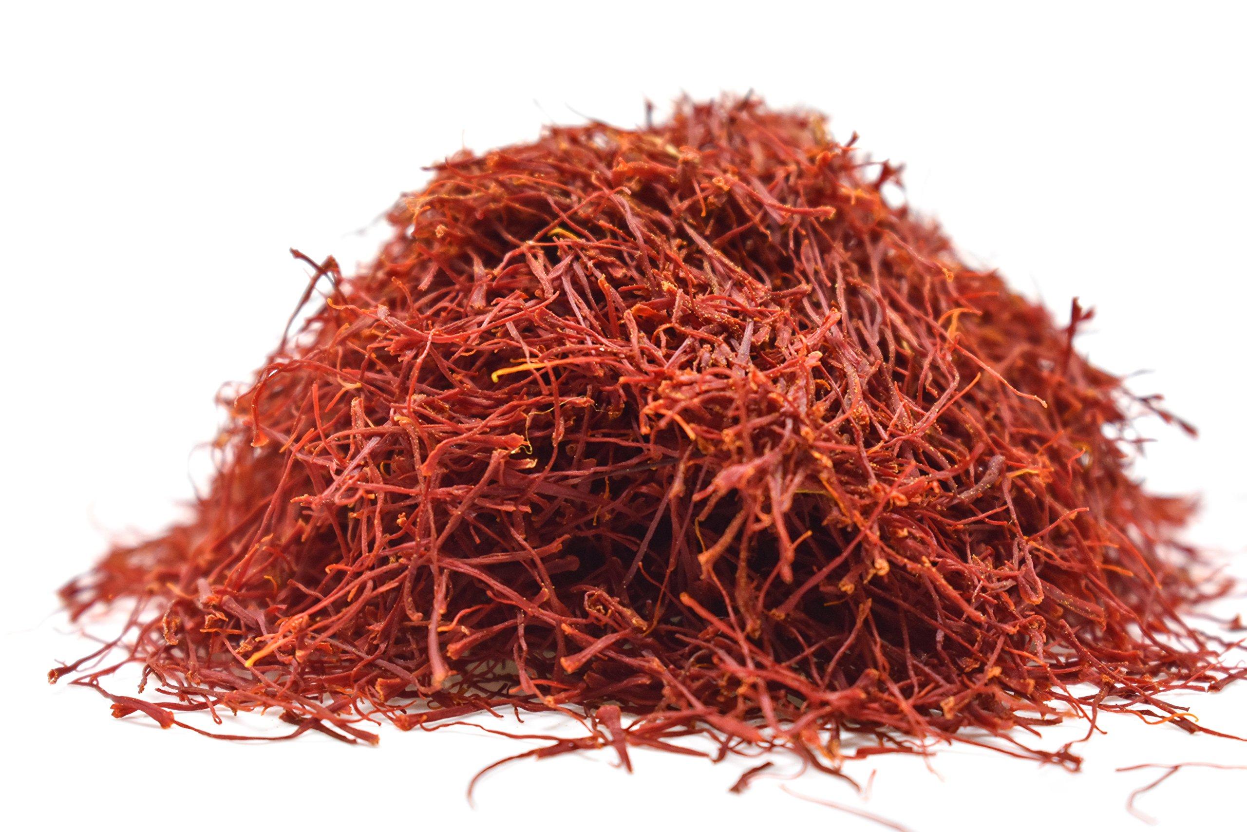Persian Saffron Threads by Slofoodgroup Premium Quality Saffron Threads, All Red Saffron Filaments (various sizes) Grade I Saffron (5 grams saffron) by Slofoodgroup (Image #3)