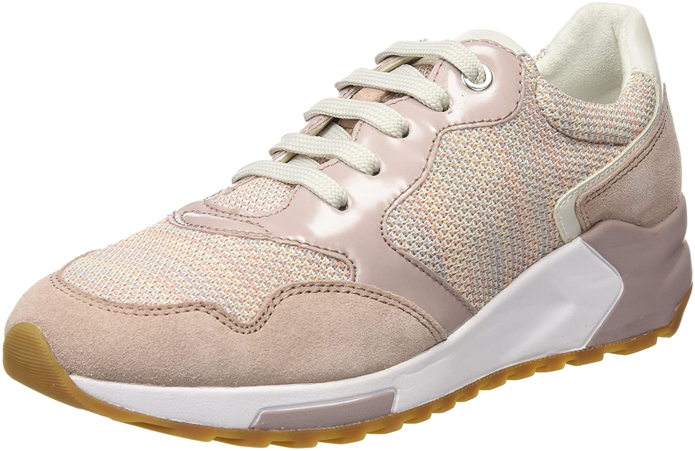 Geox D Phyteam B, Zapatillas para Mujer