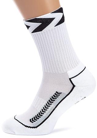 Hummel Chevron Indoor Low - Calcetines blanco Blanco, negro Talla:8 (32-35): Amazon.es: Deportes y aire libre