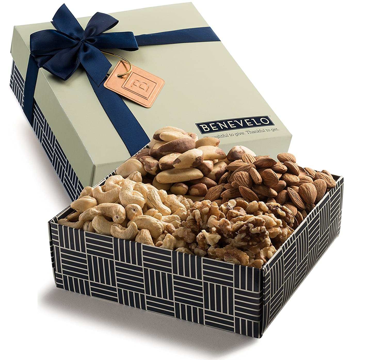 Amazon.com : Benevelo Gifts Gourmet Gift Tray of Natural Raw Mixed ...