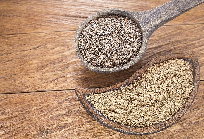 Amazon.com: Rawseed Organic Chia Seeds - Tarro para agitador ...