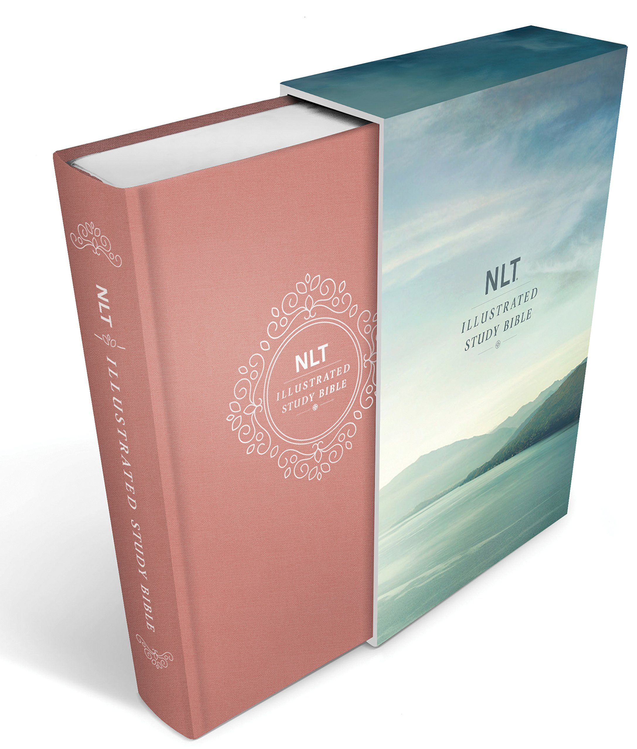 Illustrated Study Bible NLT Deluxe, Deluxe Linen Edition