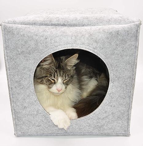 LaWiLo GmbH Cat Cube, Cueva para Gatos, Cueva para ...