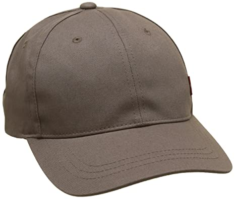 8a9a78186b5 Levi s Men s s Classic Twill Red Tab Cap Baseball (Dark Grey 56 ...