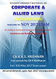 Corporate and Allied Laws for CA final Nov 2017 Exam