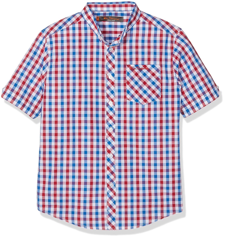 Ben Sherman Boy's Gingham Poplin Shirt BSS0170S