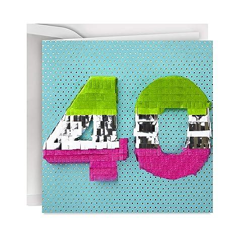 Amazon.com: Hallmark - Tarjeta de felicitación de 100 ...