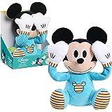 Disney Baby Peek-A-Boo Plush, Mickey Mouse, Multi-Color