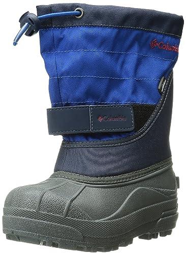 Columbia Youth Powderbug Plus Winter Boot (Little Kid/Big Kid), Collegiate  Navy