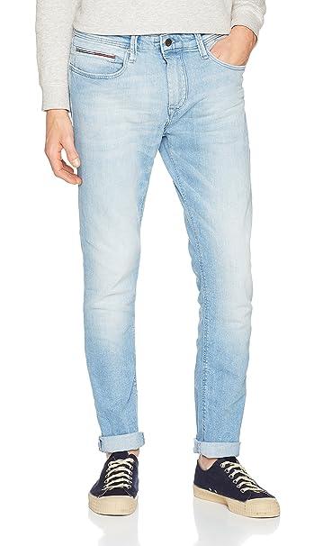 Tommy Jeans SLIM TAPERED STEVE BELB - Vaqueros slim fit - berry light blue 3pA5wAtW