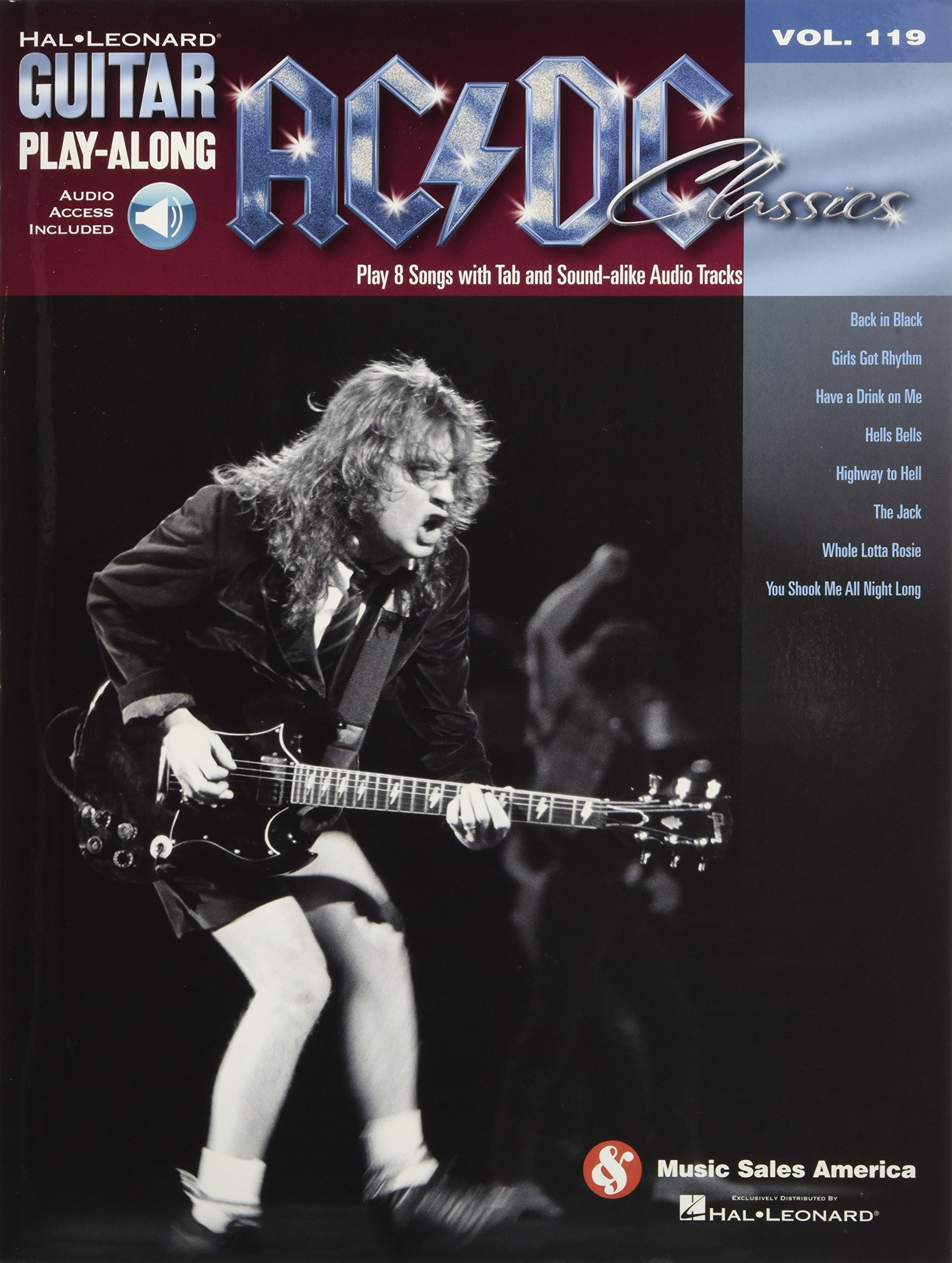 AC/DC Classics: Guitar Play-Along Volume 119 pdf