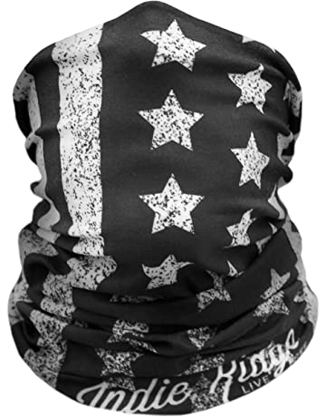 eab25f15402 American Flag Outdoor Face Mask By Indie Ridge Microfiber Polyester  Multifunctional Seamless Headwear for Motorcycle Hiking