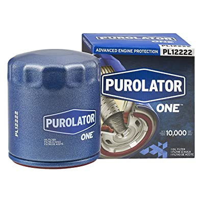 Purolator PL12222 Blue Single PurolatorONE Advanced Engine Protection Spin On Oil Filter: Automotive